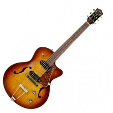 Godin 5Th Avenue Kingpin Ii Cw Cognac Burst