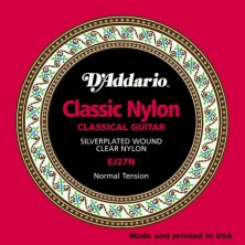 D'Addario Ej27N Classic Nylon Tension Normal