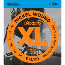 D'Addario Exl110-Xl Regular Light 10-46
