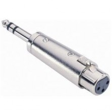 Adam Hall 7856 - Adaptador Xlr / Jack Stereo