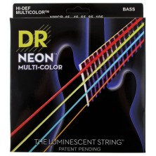 DR Strings MCB-45 Neon Multi-Color