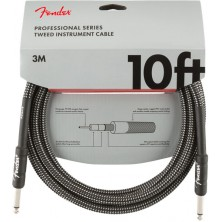 Fender Professional Series Instrument Cable 3m Gray Tweed