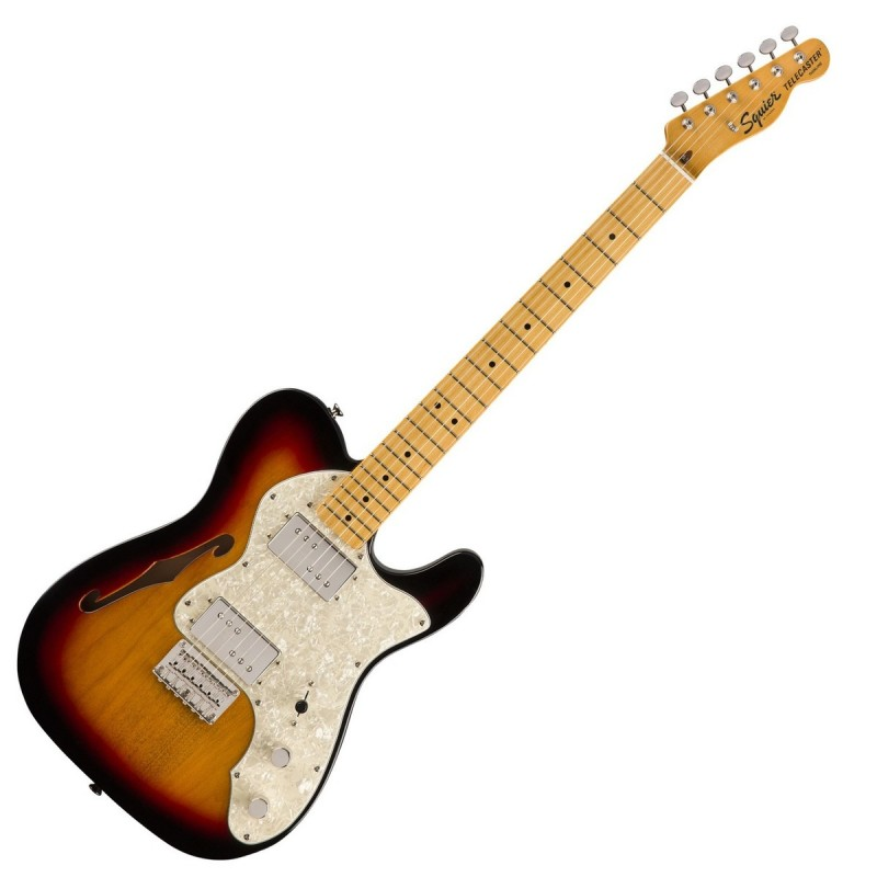 Squier Classic Vibe 70s Telecaster Thinline MN-3CSB