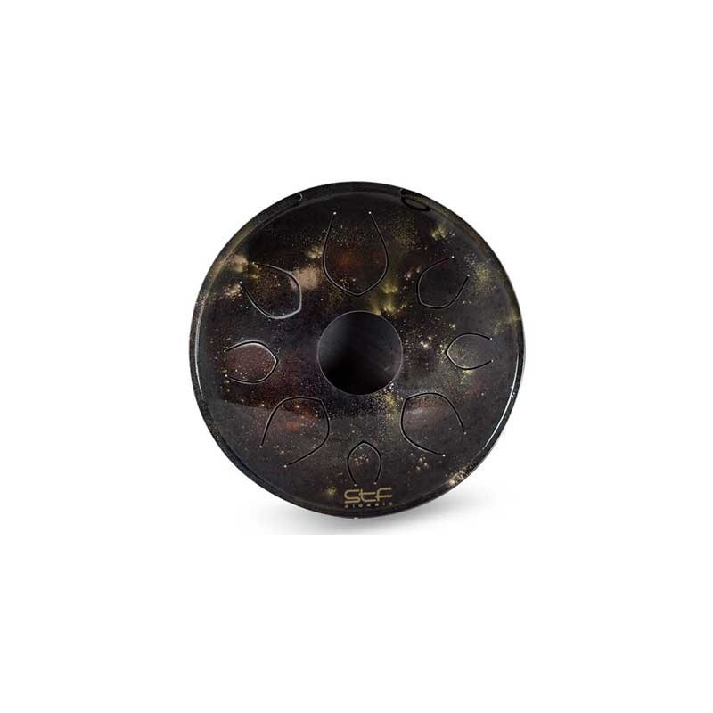 Santafe TONGUE DRUM 440HZ 8 NOTAS ACERO 31X9