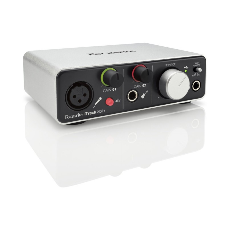 Focusrite iTrack Solo (No Lightning)