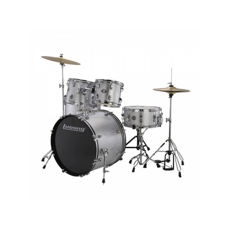 Ludwig LC170 Accent Fuse Silver Foil
