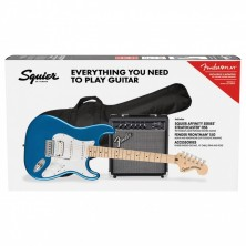 Squier Affinity Stratocaster HSS Pack Lake Placid Blue