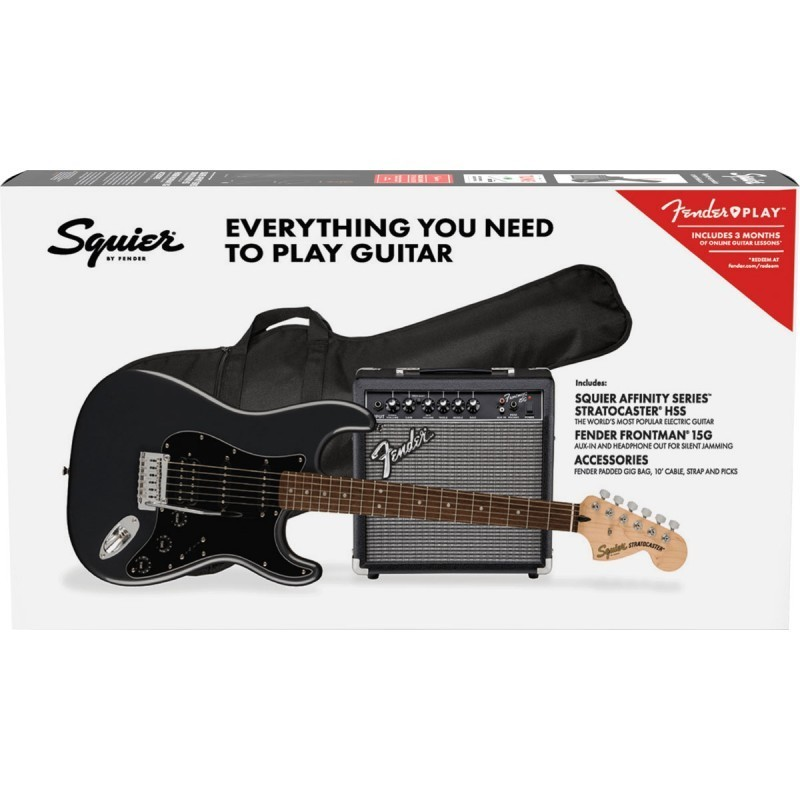 Squier Affinity Stratocaster HSS Pack Black